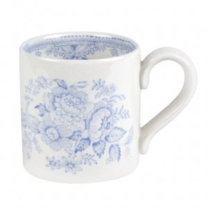 Burleigh Pottery Asiatic Pheasants Blue 284ml Mug