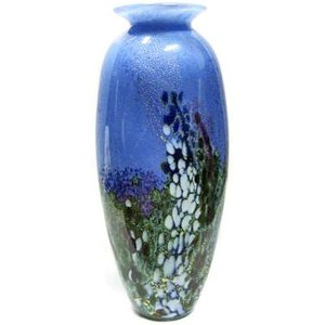 Jonathan Harris Jonathan Harris Renoir Glass Tall Vase - Garden