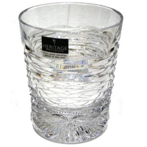 Heritage Crystal Heritage Crystal Cricklewood Whisky Glass