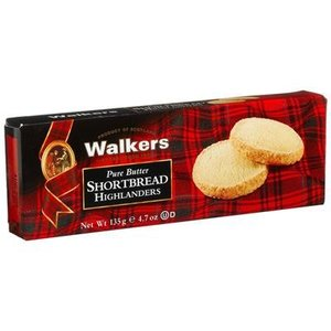 Walker's Shortbread Co. Walkers Pure Butter Shortbread Highlanders