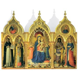 Madonna and Child with Saints - Christmas Cards