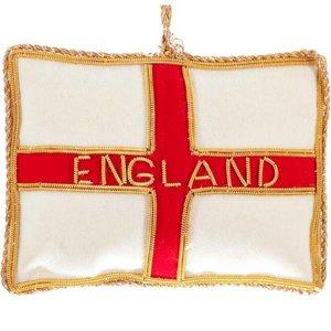 St. Nicolas St. Nicolas St. George's Cross Flag Ornament