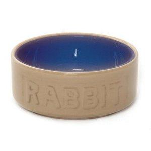 Mason Cash Mason Cash Cane Blue Rabbit Bowl