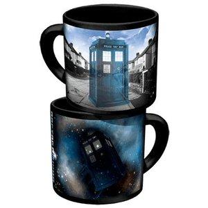 Doctor Who Mug - Disappearing Tardis