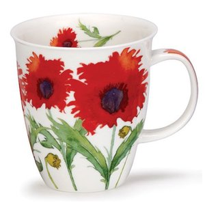 Dunoon Dunoon Nevis Flora Poppy Mug