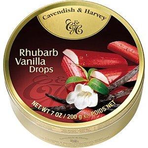 Cavendish & Harvey Rhubarb Vanilla Drops