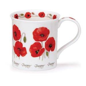 Dunoon Dunoon Bute Summer Flowers - Poppy Mug