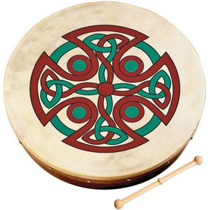 Waltons Carew Cross Bodhran - 12 in.