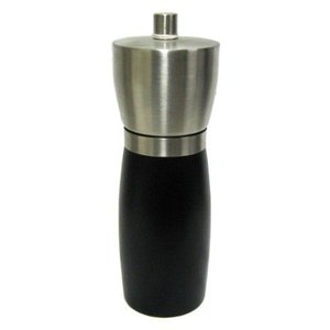Cole & Mason Cole & Mason Slender Steel / Black Salt Mill