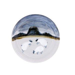 Highland Stoneware Highland Stoneware Sheep Coaster
