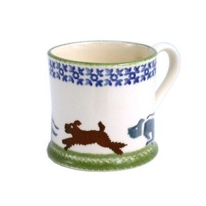 Brixton Pottery Brixton Scottie Chasing Mug - Large