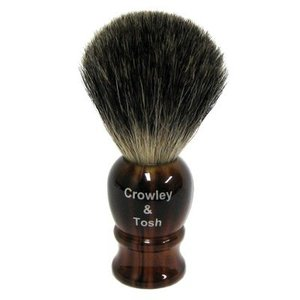 Crowley & Tosh Crowley & Tosh Mixed Badger Shaving Brush - Imitation Tortoise Shell