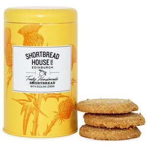 Shortbread House of Edinburgh Shortbread House of Edinburgh Biscuit Tin - Sicilian Lemon