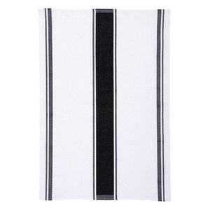 Ulster Weavers Ulster Weavers Plain Black Stripe Tea Towel
