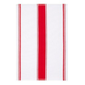 Ulster Weavers Ulster Weavers Plain Red Stripe Tea Towel