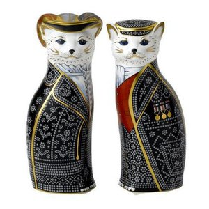 Royal Crown Derby Royal Crown Derby Diamond Jubilee Pearly King and Queen