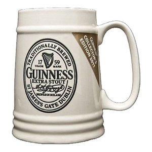 Guinness Guinness Collector's Edition Cream Ceramic Tankard