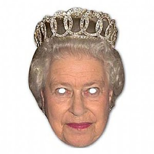 Mask-Arade Queen Elizabeth Mask