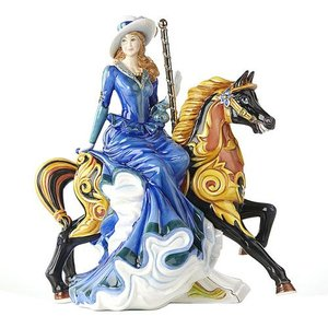 English Ladies Figurines English Ladies Co. The Merry Go Round