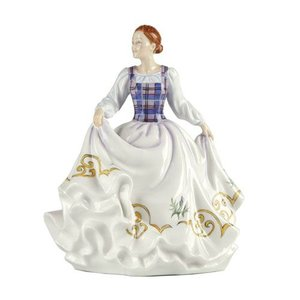 English Ladies Figurines English Ladies Co. Celtic Ladies - Scotland