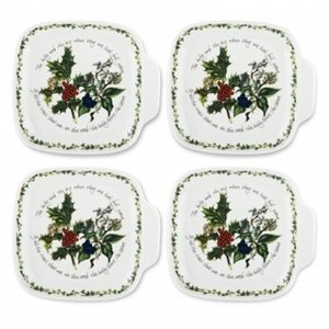 Portmeirion Holly & Ivy Canape Plates