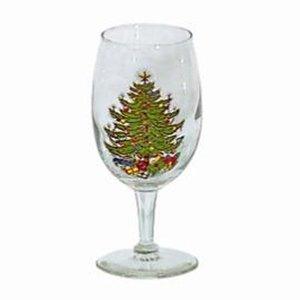 Cuthbertson Christmas Tree Wine Glasses