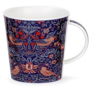 Dunoon Dunoon Cairngorm Arts & Crafts Mug - Strawberry Thief