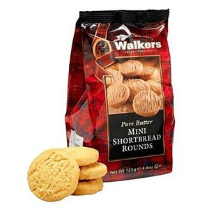 Walker's Shortbread Co. Walkers Mini Shortbread Rounds Bag