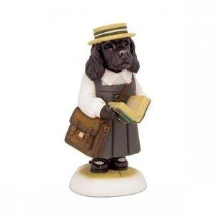 Robert Harrop Harrop's Black Cocker Spaniel Puppy, School Girl