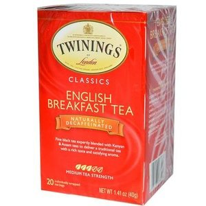 Twinings Twinings 20 CT English Breakfast, Decaf