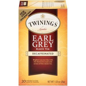 Twinings Twinings 20 CT Earl Grey Tea, Decaf