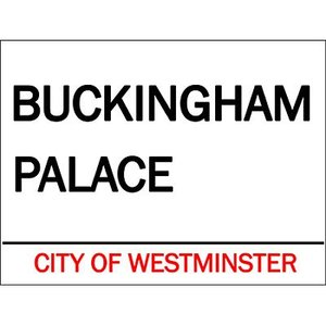Original Metal Sign Co. Original Metal Sign Co. Buckingham Palace Street Sign