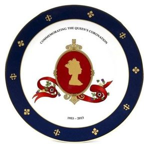 Halcyon Days Halcyon Days Coronation Cameo Plate