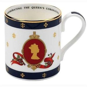 Halcyon Days Halcyon Days Coronation Cameo Mug