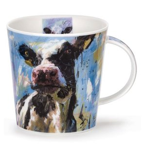 Dunoon Dunoon Cairngorm Animals on Canvas Mug - Dairy Cow