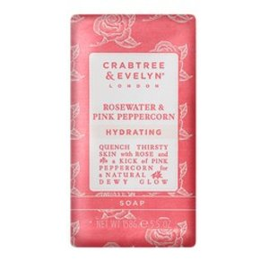 Crabtree & Evelyn C&E Rosewater and Pink Peppercorn Soap Single