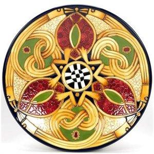 Moorcroft Pottery Moorcroft Staffordshire Gold Plate 783/10