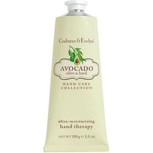 Crabtree & Evelyn C&E Avocado, Olive, and Basil Hand Therapy 100g