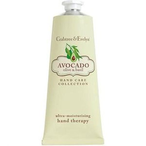 Crabtree & Evelyn C&E Avocado, Olive, and Basil Hand Therapy 50g