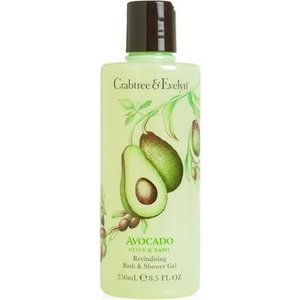 Crabtree & Evelyn C&E Avocado, Olive, and Basil Bath and Shower Gel