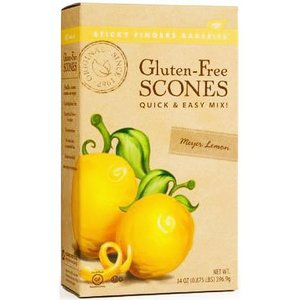 Sticky Fingers Sticky Fingers Gluten Free Scone Mix - Meyer Lemon