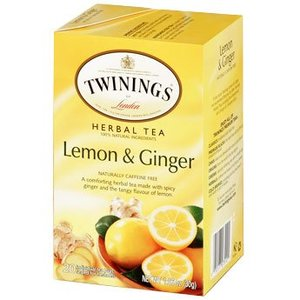 Twinings Twinings 20 CT Lemon and Ginger Herbal