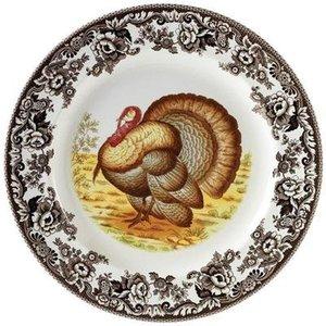 Spode Spode Woodland Salad Plate - Turkey