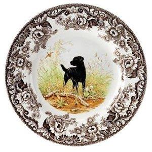 Spode Spode Woodland Dinner Plate - Black Labrador