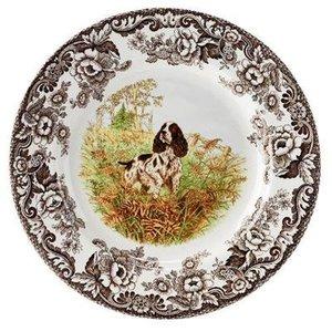 Spode Spode Woodland Dinner Plate - Spaniel