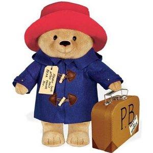 Paddington Bear Yottoy Productions Large Paddington Bear with Suitcase