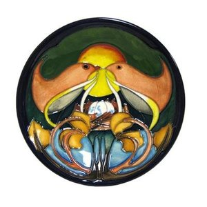 Moorcroft Pottery Moorcroft Homemakers Tray 780/4