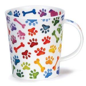 Dunoon Dunoon Lomond Pawprints Mug - Dog