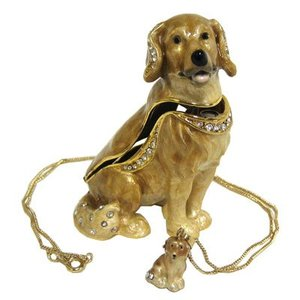 Kingspoint Designs Kingspoint Designs Seated Golden Retriever