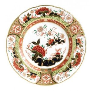 Royal Crown Derby Royal Crown Derby Golden Peony 8 in. Plate